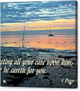 All Your Cares Acrylic Print