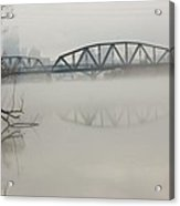 Allegheny In The Mist Acrylic Print