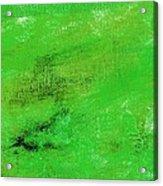 Allegory Emerald Green Acrylic Print