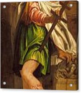 Allegory Of Navigation With A Cross-staff Acrylic Print