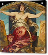 Allegory Of Religious And Profane Painting  Acrylic Print