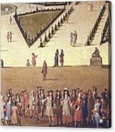 Allegrain, Etienne 1644-1736. Promenade Acrylic Print