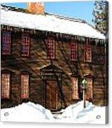 Allen House Deerfield Ma Acrylic Print