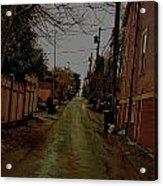 Alley 3 Acrylic Print