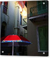 Alley Art Acrylic Print