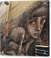 Alley Graffiti #2 Acrylic Print by Stuart Litoff