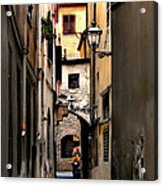 Alley In Florence 1 Acrylic Print