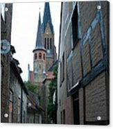 Alley In Schleswig - Germany Acrylic Print