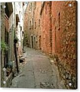 Alley In Tourrette-sur-loup Acrylic Print