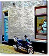 Alley In Venlo Acrylic Print