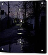 Alley Night Acrylic Print