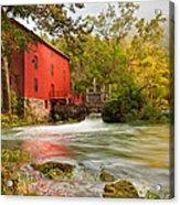 Alley Spring Mill - Eminence Missouri Acrylic Print