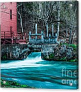 Alley Springs Mill Acrylic Print