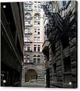 Alley Valleys 4 Acrylic Print