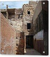 Alleyway Morocco Acrylic Print