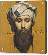 Alli Baba Acrylic Print
