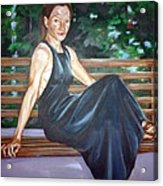 Allison Two Acrylic Print