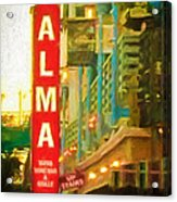 Alma Acrylic Print