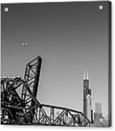 Almighty Chicago Acrylic Print