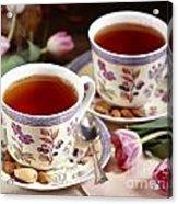 Almond Tea For Two Acrylic Print