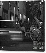 Almost Midnight - Modern Day Cinderella Acrylic Print