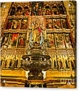 Almudena Cathedral Acrylic Print