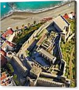 Almunecar Castle From The Air Acrylic Print
