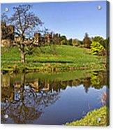 Alnwick Castle Panorama Acrylic Print