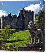 Alnwick Lion Acrylic Print