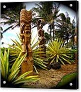 Aloha From Hawaii Acrylic Print