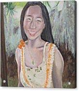 Aloha Jade Acrylic Print