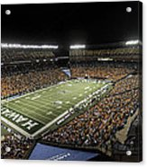 Aloha Stadium Night Game Acrylic Print
