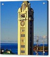 Aloha Tower Acrylic Print