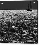 Alone At Sea Acrylic Print