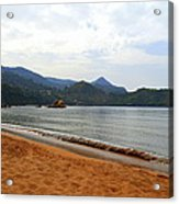 Alone In An Island Acrylic Print