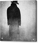 Alone In The Fog 2 Acrylic Print by Gun Legler