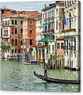 Alone In Venice Acrylic Print