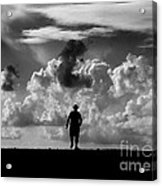 Alone Acrylic Print by Stelios Kleanthous