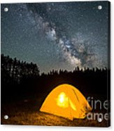 Alone Under The Stars Acrylic Print