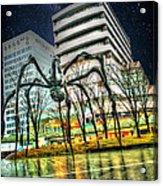 Along Came A Spider Acrylic Print