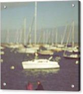Along The Bay Acrylic Print