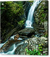 Waterfall - Along The Borderlands Acrylic Print