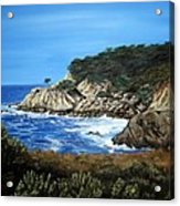 Along The California Coast Acrylic Print