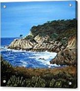 Along The California Coast Acrylic Print