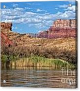 Along The Colorado River Acrylic Print