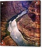 Along The Colorado River Acrylic Print