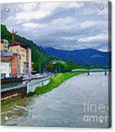 Along The Rhine Acrylic Print