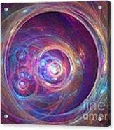 Alpha Centauri Acrylic Print by Kim Sy Ok