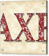 Alpha Chi Rho - Parchment Acrylic Print