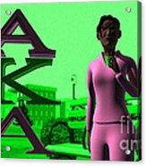 Alpha Sister Acrylic Print